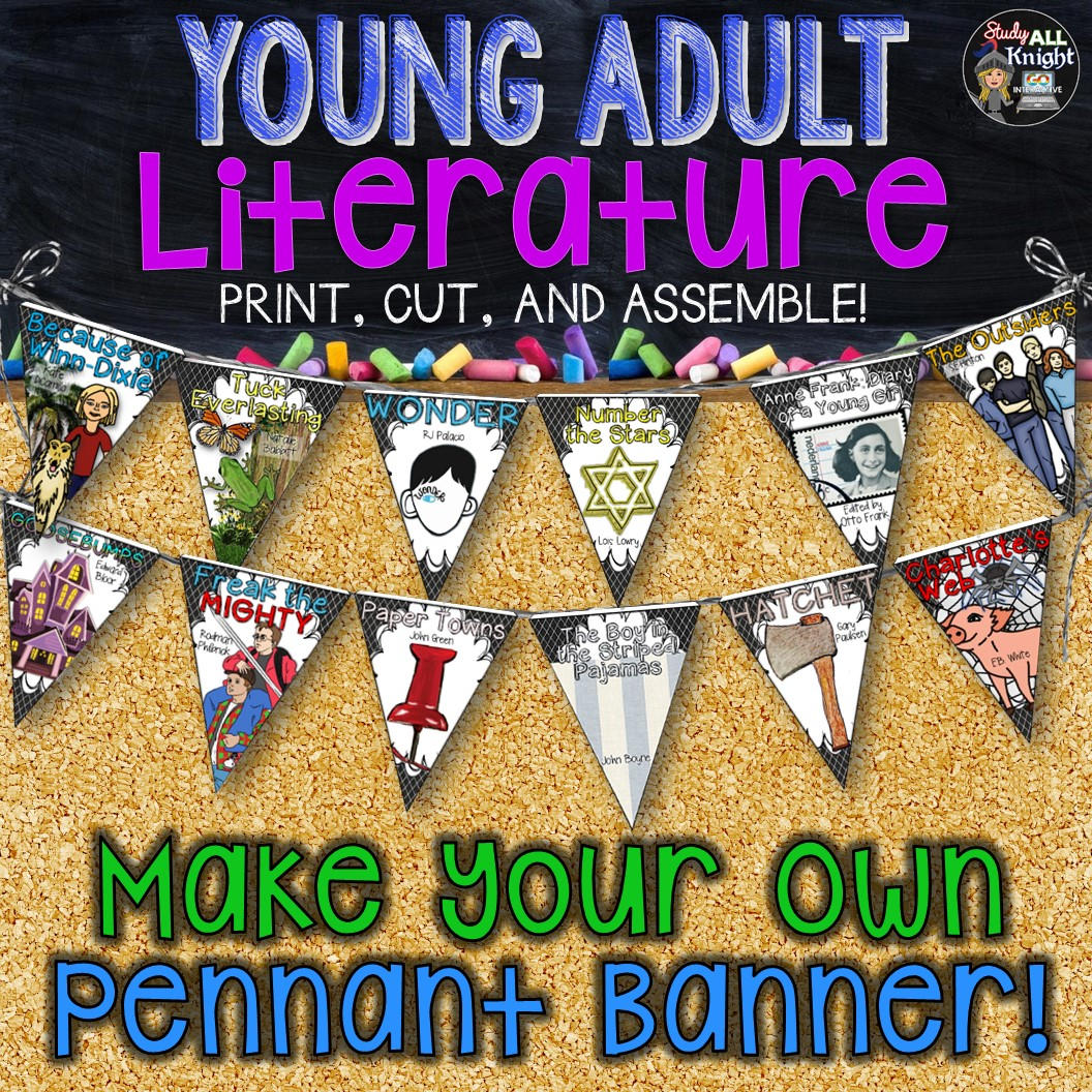 English Classroom Decor Young Adult Literature Make Your