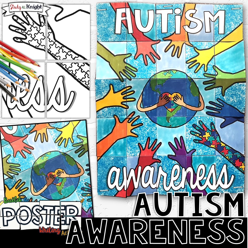 Autism Awareness Collaborative Poster for April and Spring ...